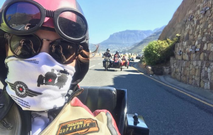 Cape Town from a sidecar