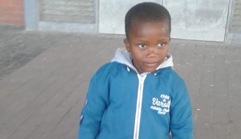 Four-year-old disappears