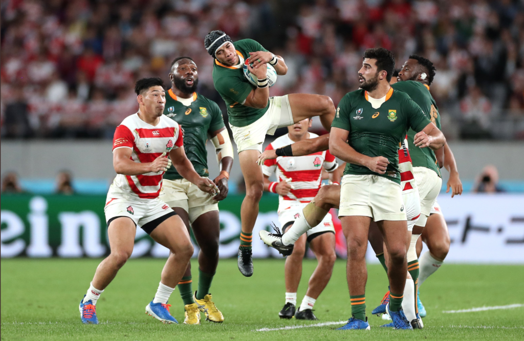 Springboks through to World Cup semi-final