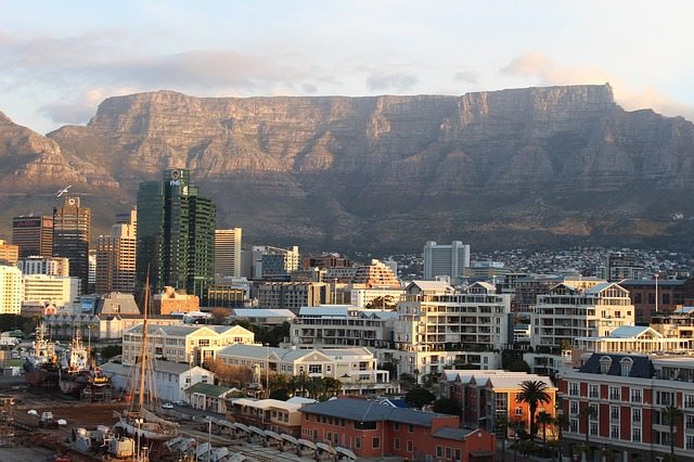 Eateries with best Table Mountain views