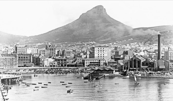 The changing faces of Lion's Head