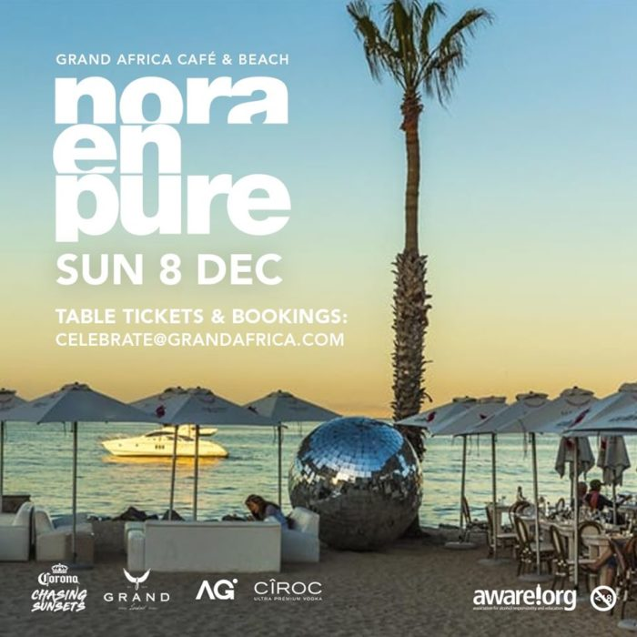 Nora En Pure live at the Grand Africa Café