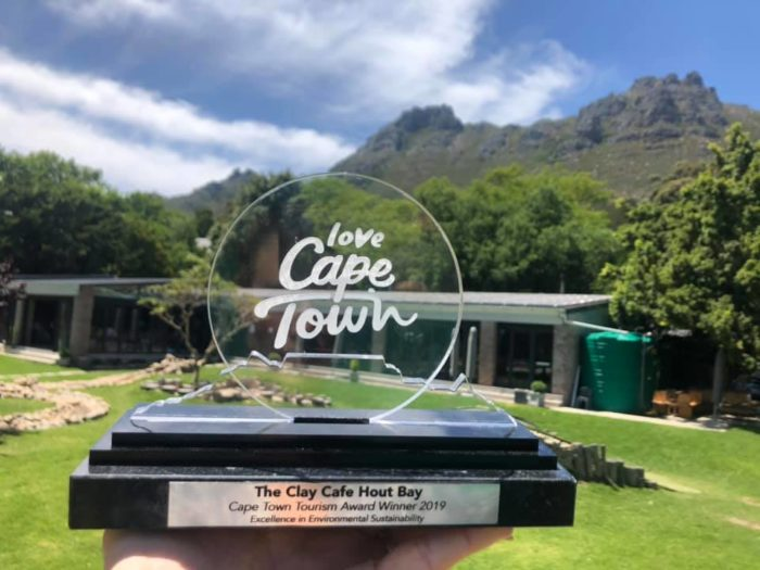 Clay Cafe honoured for excellence in sustainability