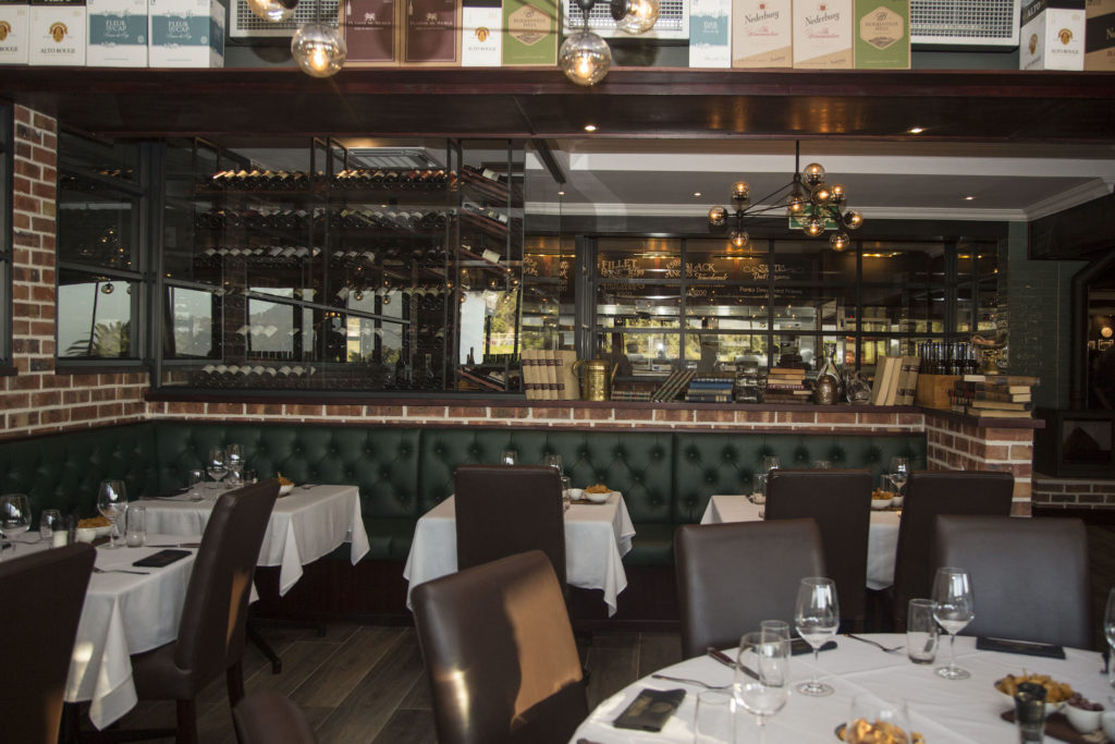A peek inside the newly renovated Hussar Grill Camps Bay