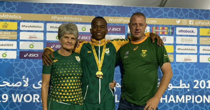 SA scoops gold medal at World Para Athletics Champs