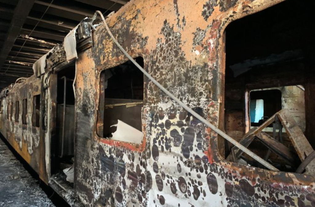 R100 000 reward offered for train arson suspects