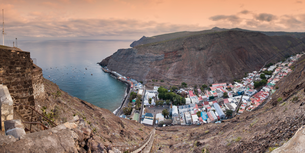 Explore the remote island of St Helena