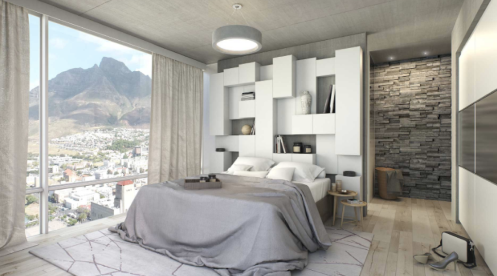Apartments in City's tallest building to start at R899 000
