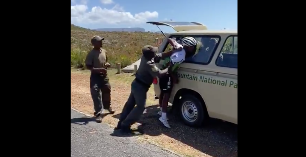 SA cyclist hospitalised after assault by Table Mountain rangers