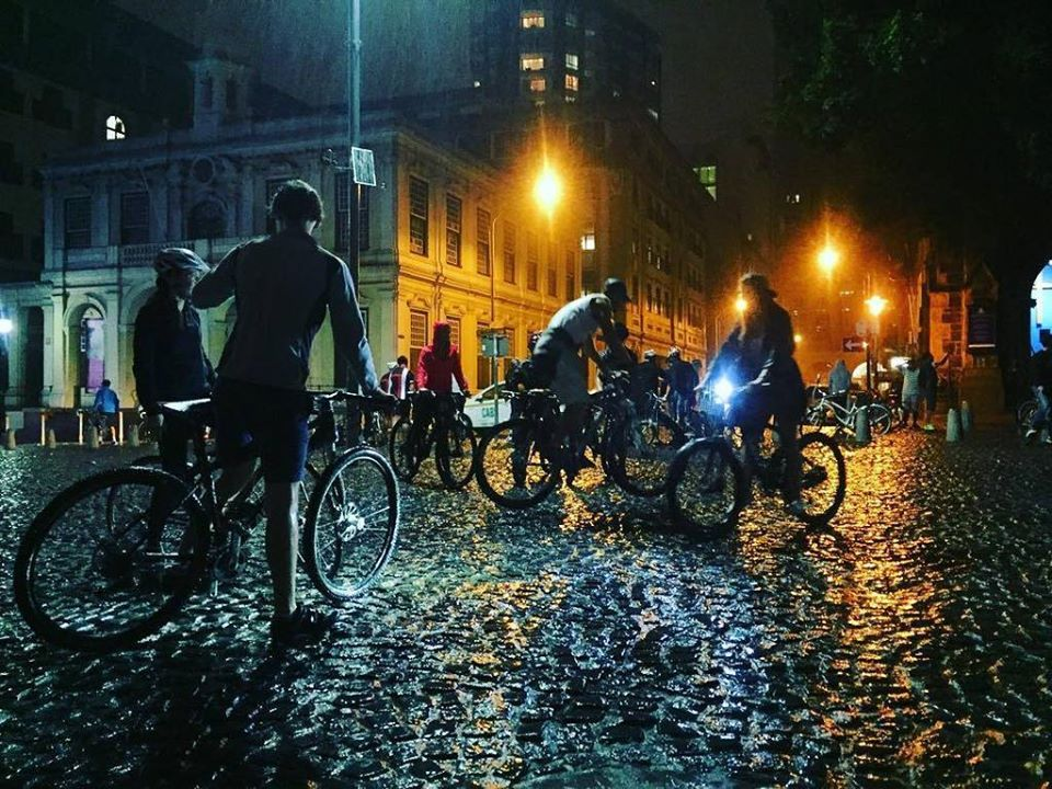 Moonlight Mass invites cyclists onto Cape Town streets