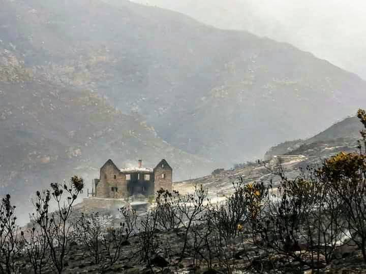 Family left devastated by Overberg fires