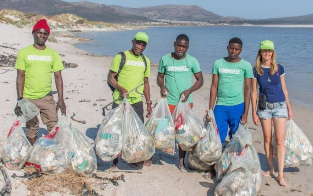 Project Noordhoeked creates jobs with beach cleanups