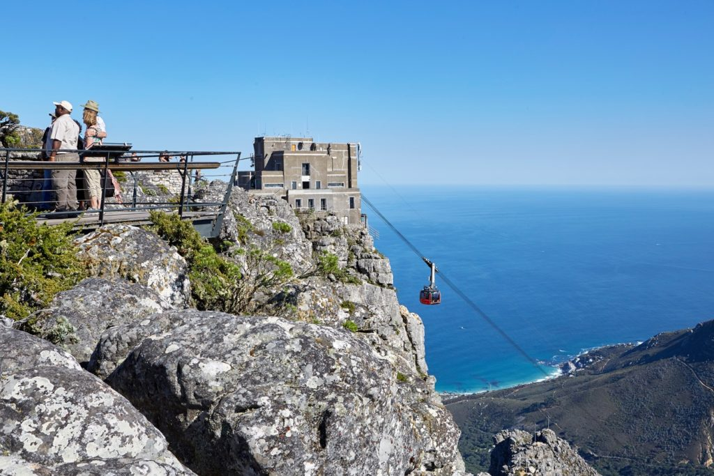 Table Mountain Cableway closes due to strong winds
