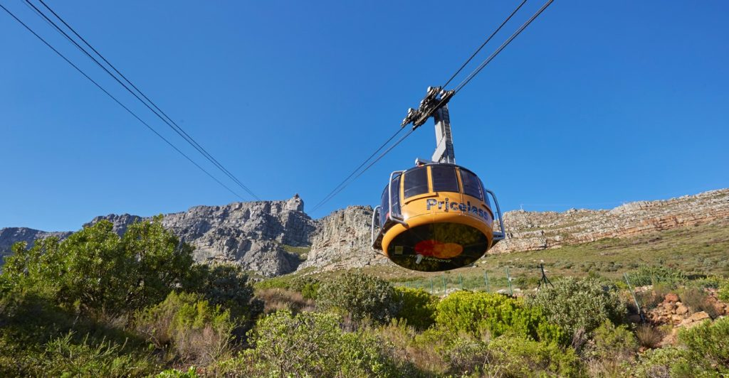 Table Mountain cableway annual shutdown dates