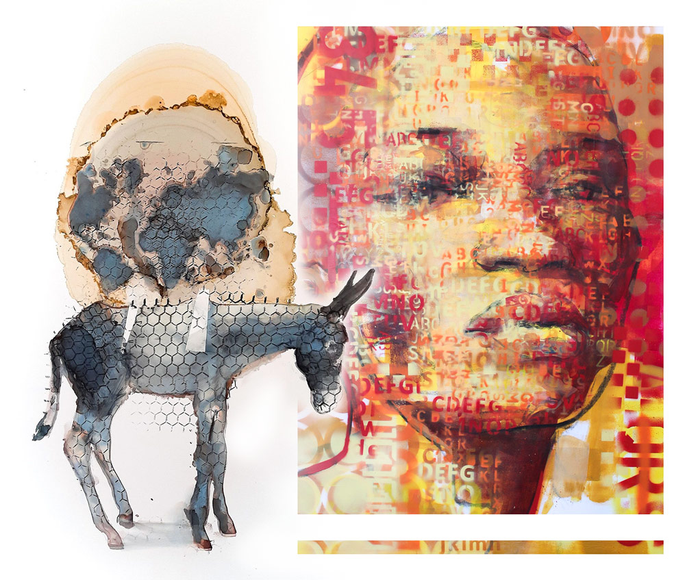 Exhibition by mother-son duo Pascale and Claude Chandler