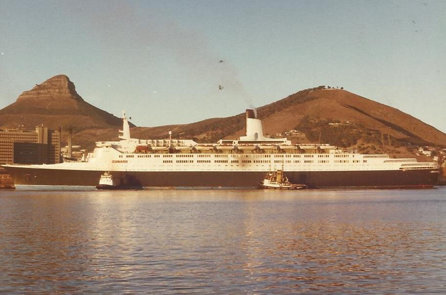 Ships that cruised Cape Town over the decades