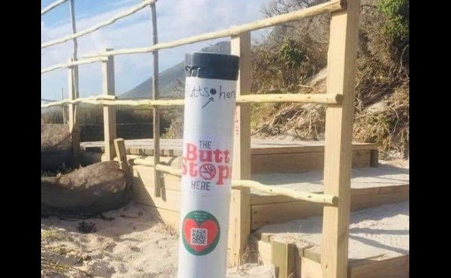 Cape beaches to roll out cigarette butt pipes