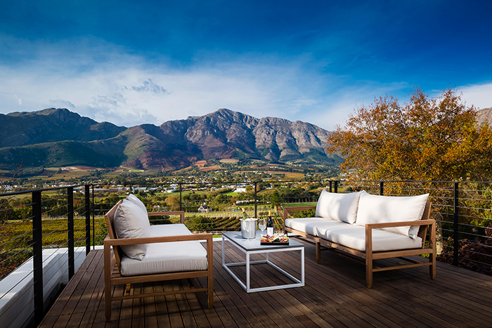 Feed your body and soul at Mont Rochelle in Franschhoek
