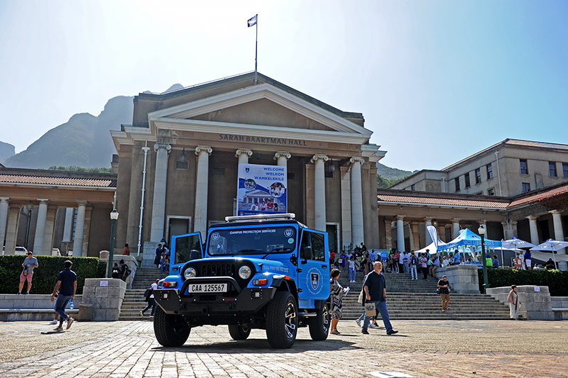UCT introduces high-tech patrol vehicles