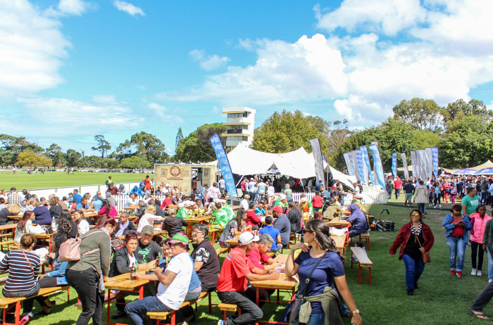 Get a little shell-fish at the Cape Town Prawn Festival
