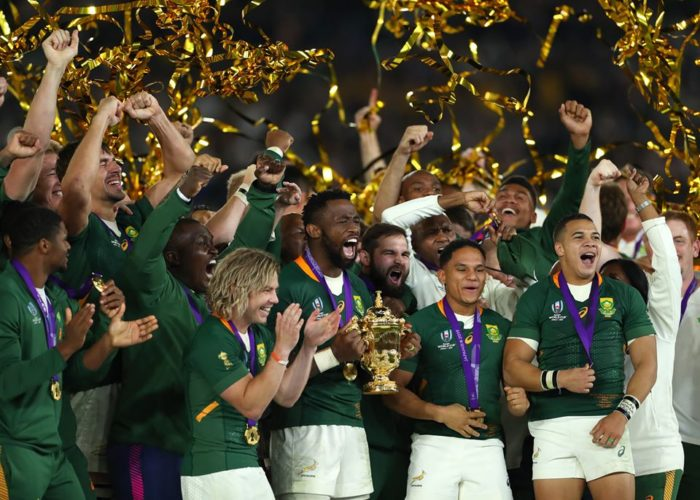 Springboks win Laureus Team of the Year Award