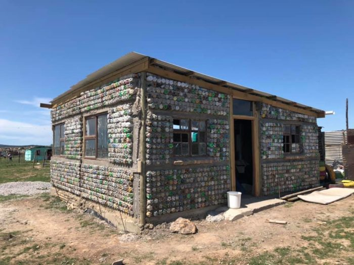 Unique Eco-Brick home offers sustainable living