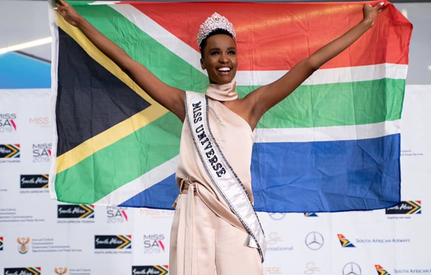 Cape Town welcomes Miss Universe