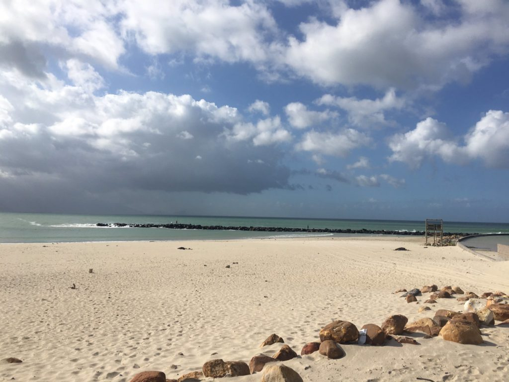 Man missing in the surf at Monwabisi Beach
