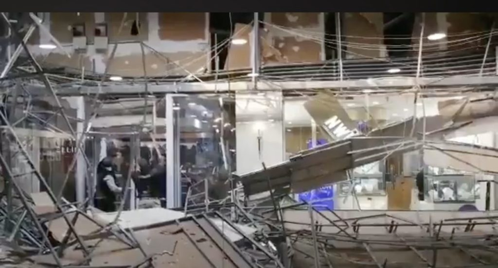 Somerset Mall ceiling collapses, again