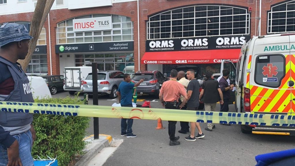 Security guard killed during armed robbery