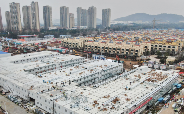 China builds second hospital in 10 days