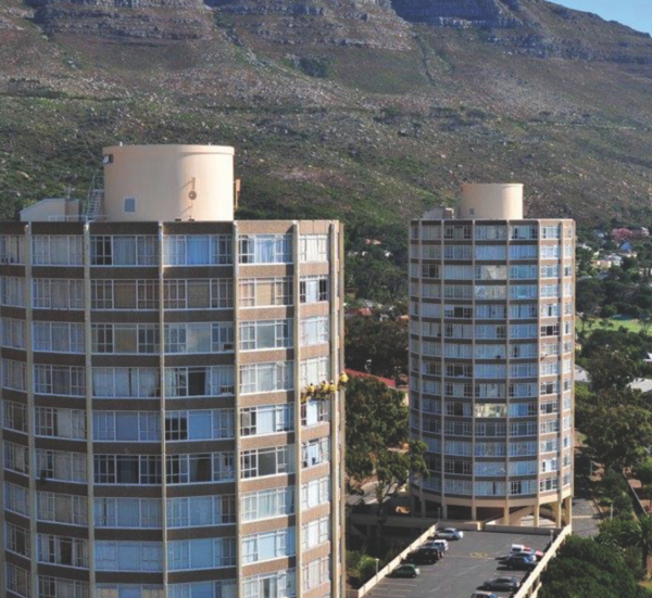 How Cape Town S Quot Tampon Towers Quot Came To Be