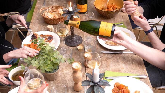 Yelloweek in Cape Town with Veuve Clicquot