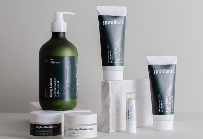 Goodleaf launches cannabis beauty range