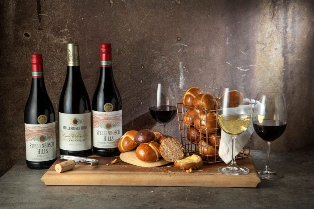 Hot cross bun & wine pairing with Stellenbosch Hills