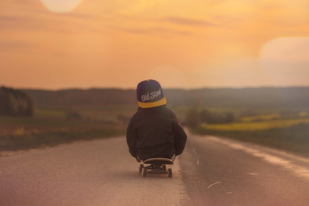 Safety measures to stop downhill skateboarding in Hout Bay