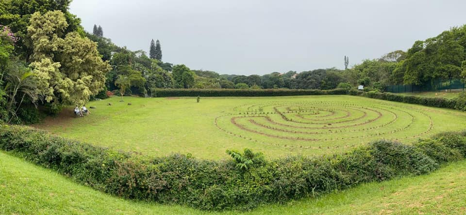 Spekboom labyrinth open to volunteers this weekend
