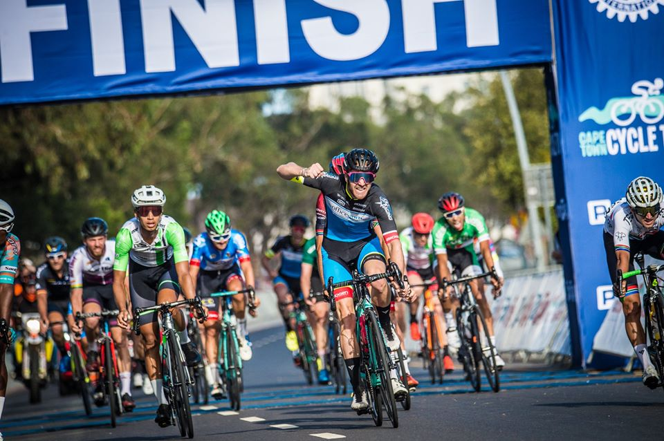 Winners of the 2020 Cape Town Cycle Tour