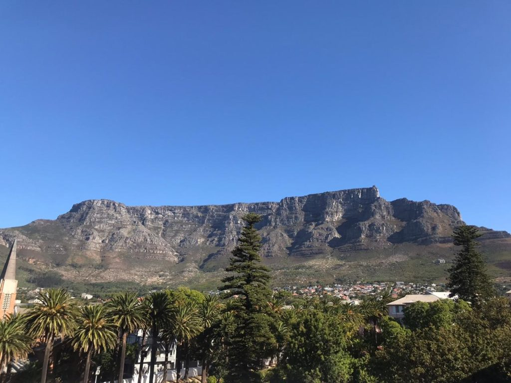 Table Mountain is going gold in honour of childhood cancer