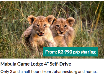 Mabula Game Lodge - from R3990 per person | holiday packages in South Africa