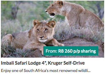 Imbali Safari Lodge - from R8260 per person | holiday packages in South Africa