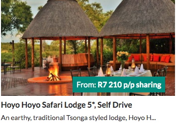 Hoyo Hoyo Safari Lodge - from R7210 per person | holiday packages in South Africa