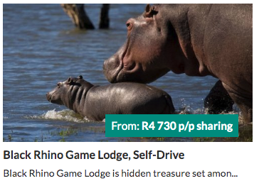 Black Rhino Game Lodge, Self-Drive - from R4730 per person | holiday packages in South Africa