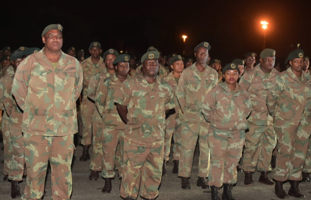 SANDF calls on Reserve Force to join COVID-19 battle