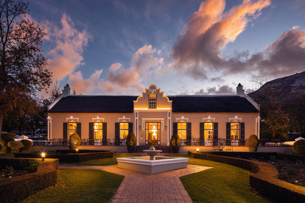 Comfort and tranquility at The Grande Roche Hotel