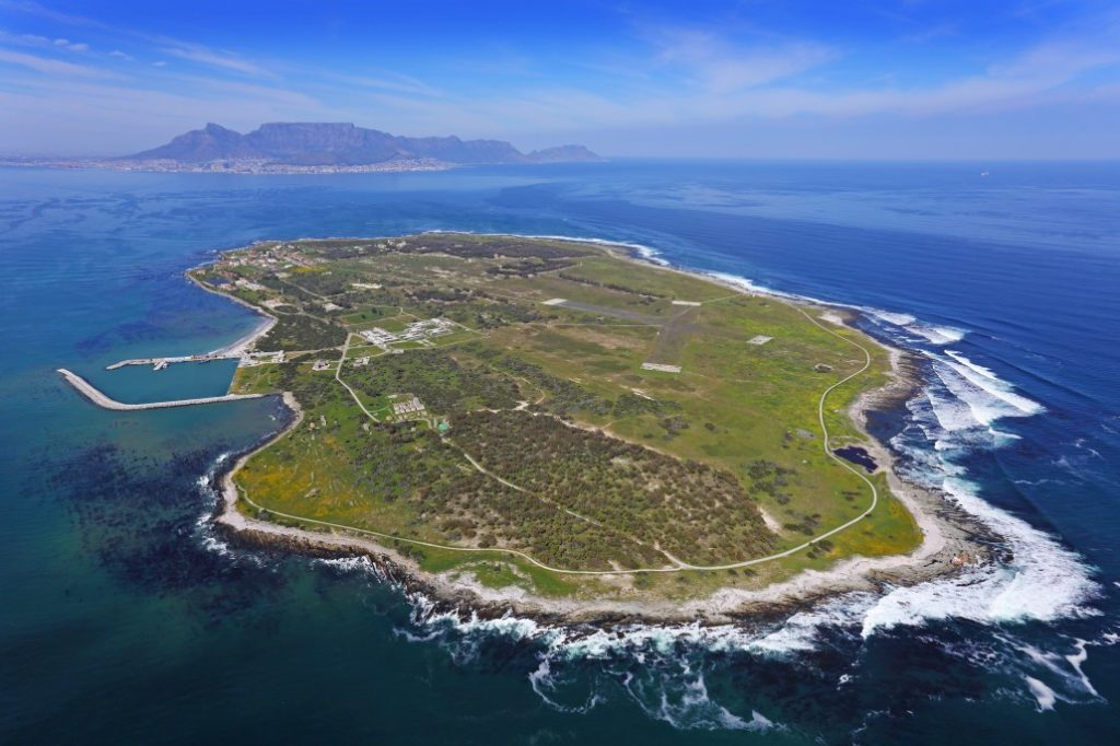 Robben Island resupplied with essential goods