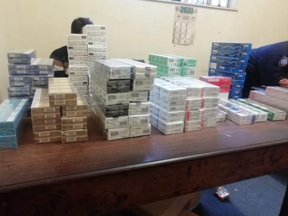 Man bust for leaving house to buy cigarettes