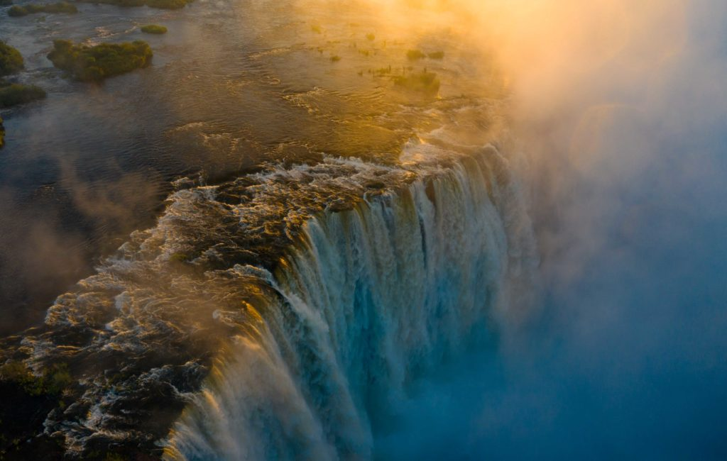 Vic Falls reaches highest levels in a decade