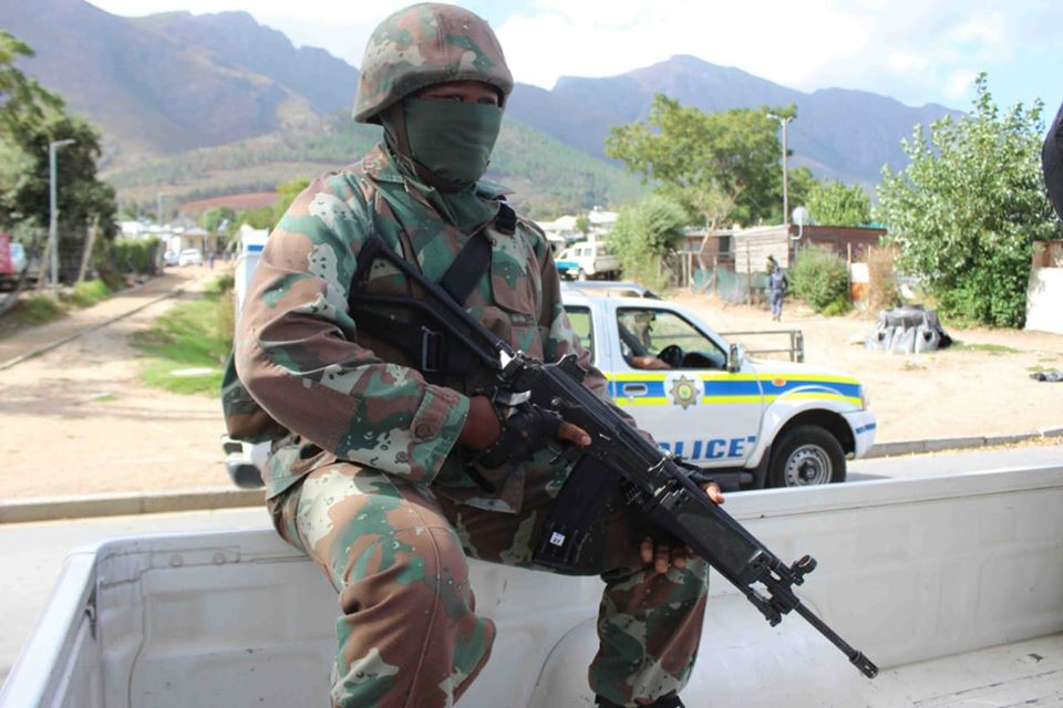 Four SANDF members test positive for COVID-19