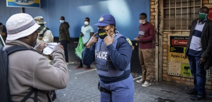 Over 80 compaints lodged against WC police in lockdown